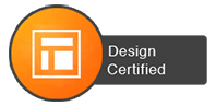 hubspot, design, certified, badge, icon