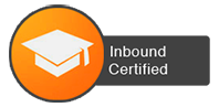 inbound, certified, badge, icon