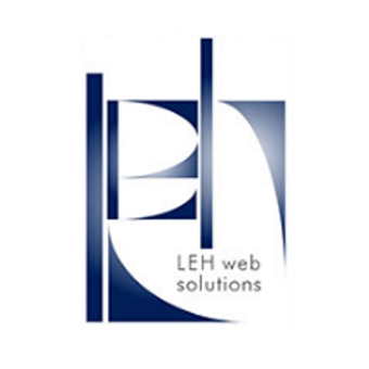 leh, web, solutions, logo, branding, creative, services