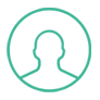 buyer, buyer-persona, icon, teal, green, buyers, customers, clients