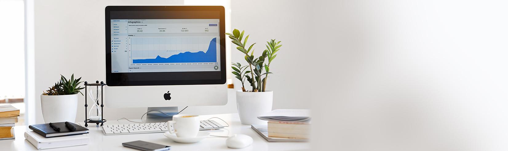 inbound marketing, graph, data, desktop, computer